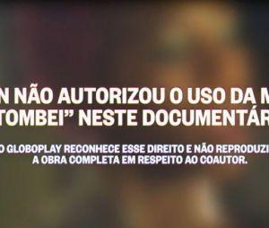 """A música """"Tombei"""" não aparece no documentário """"A Vida Depois do Tombo"""""""