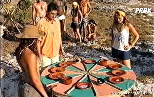 """Prova de """"No Limite"""" desafiava os participantes a rodarem uma roleta com alimentos apetitosos e nojentos que deveriam ser ingeridos"""