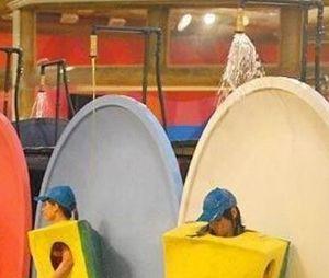 """""""BBB"""": prova do líder desafiou participantes a resistirem a banho de espuma por horas em pé"""
