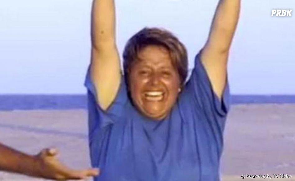 """""""No Limite"""": Elaine, ganhadora da primeira edição do programa, admitiu ter gostado de comer cérebro de bode cru, desafio de uma das provas do reality show"""