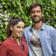 Novela 'Salve-se Quem Puder': Micaela (  Sabrina Petraglia  ) vai ganhar  companhia de Bruno (Marcos Pitombo) ao ir morar fora do país no final da trama