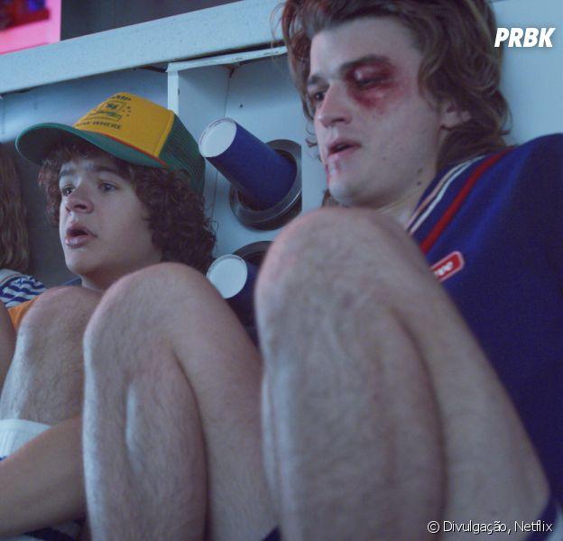 """""""Stranger Things"""": elenco surge com machucados em fotos divulgadas na web"""