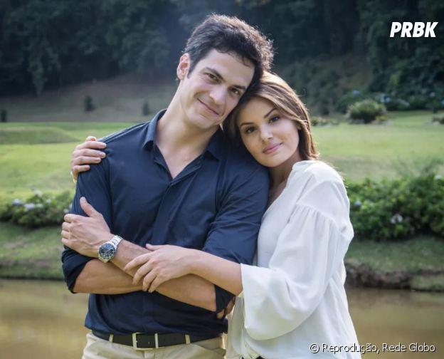 O público não curtiu muito o casal Eric (Mateus Solano) e Luiza (Camila Queiroz)