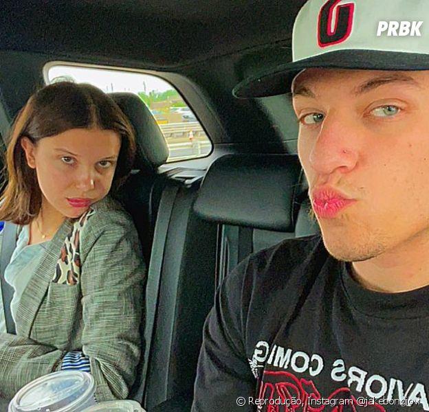 Millie Bobby Brown pode estar namorandoJake Bongiovi, filho de Bon Jovi