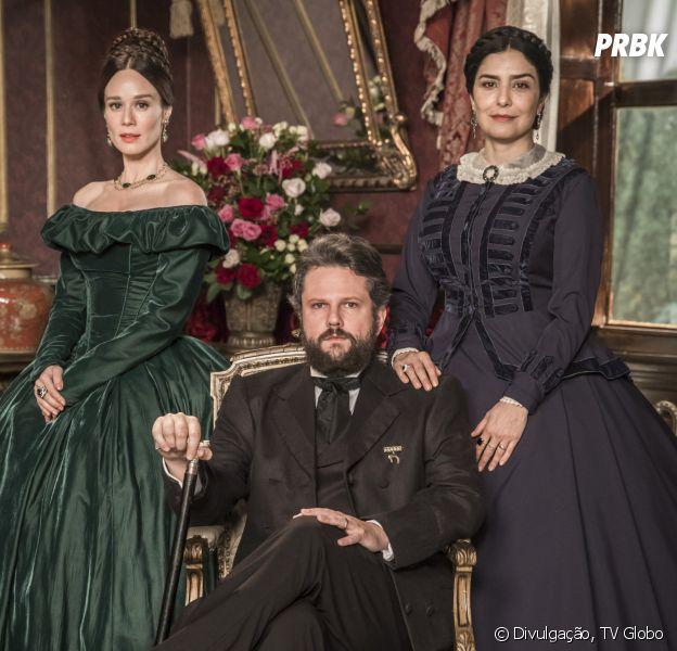 """""""Nos Tempos do Imperador"""" é a primeira totalmente inédita da TV Globo desde o início da pandemia"""
