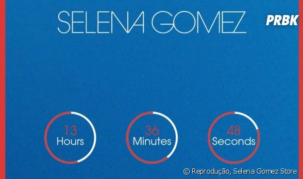 O que será essa contagem regressiva no site de Selena Gomez?