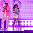 Anitta fez performance como cantor porto-riquenho Lunay no Prêmio Juventud 2021