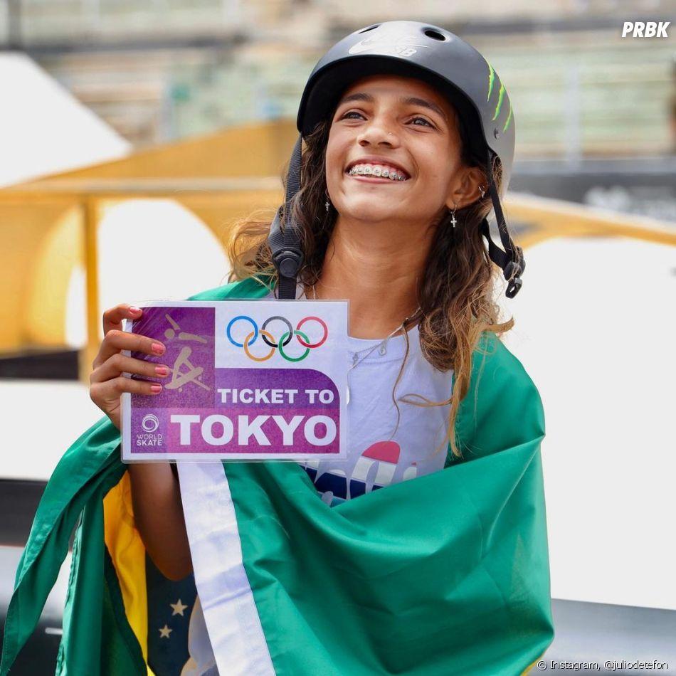 Com 13 anos, Rayssa Leal é a brasileira mais nova a competir nas Olimpíadas