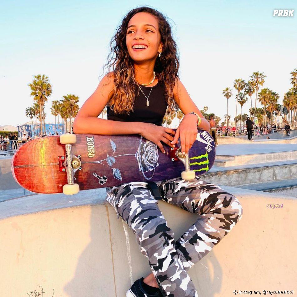 Rayssa Leal é conhecida também como a fadinha do skate