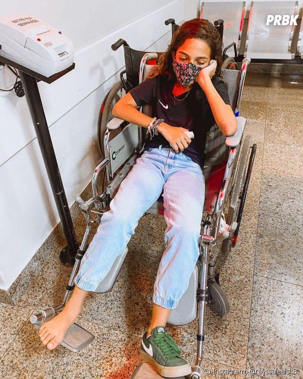 Em março, Rayssa Leal se lesionou pela primeira vez em sete anos