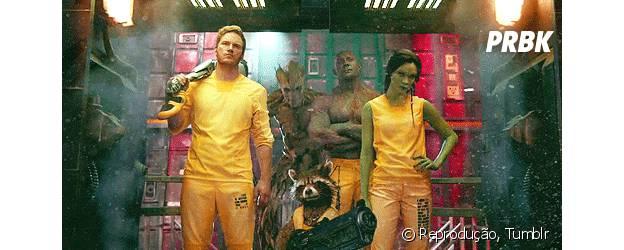 """""""Guardiões da Galáxia"""" conta com Chris Pratt e Zoe Saldana no elenco"""