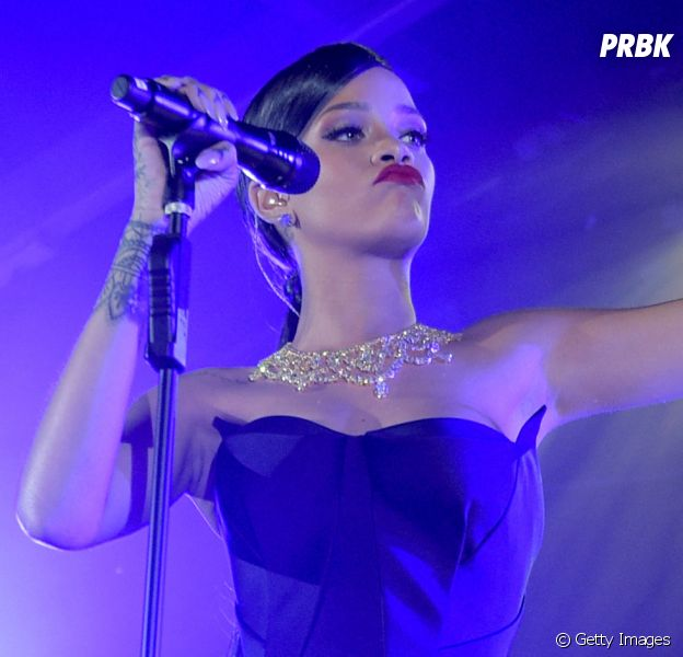 Rihanna está gravando seu oitavo álbum de estúdio