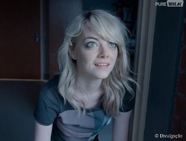 """Emma Stone está entre as finalistas na categoria Melhor Atriz Coadjuvante, por seu trabalho no filme """"Birdman"""""""