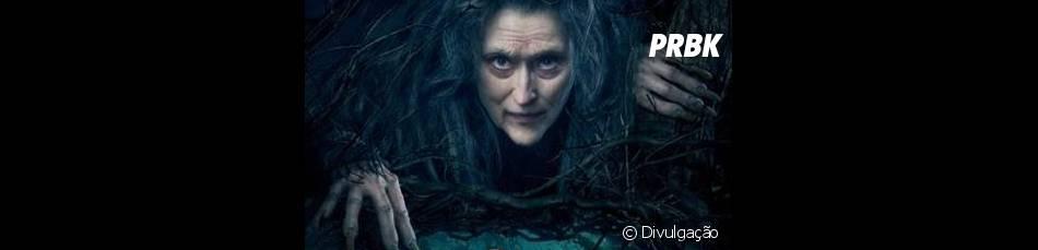 """Meryl Streep concorre com Emma Stone à categoria Melhor Atriz Coadjuvante, por seu trabalho em """"Caminhos da Floresta"""""""