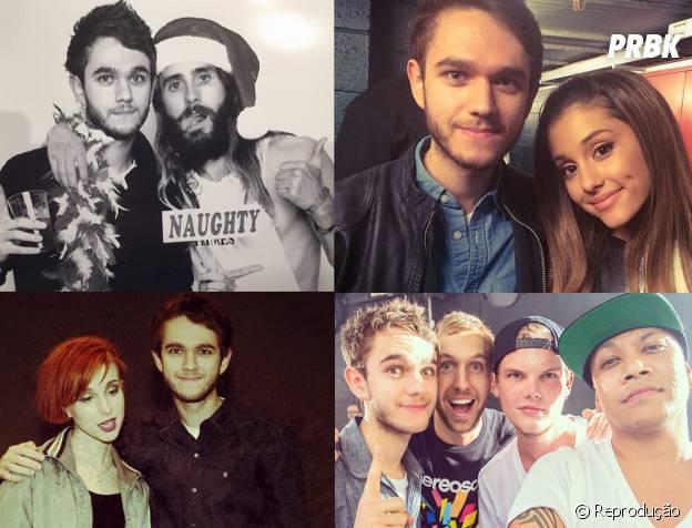 O produtor Zedd é amigo de astros como Jared Leto, Hayley Williams, Calvin Harris e Ariana Grande