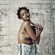 Rihanna posa de topless para a revista i-D e se prepara para lançar seu próximo álbum de estúdio