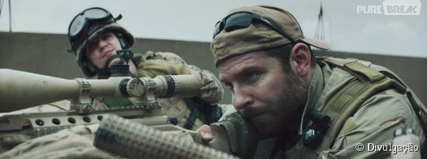 """Pela terceira vez consecutiva, o drama """"Sniper Americano"""" lidera a bilheteria nos EUA"""