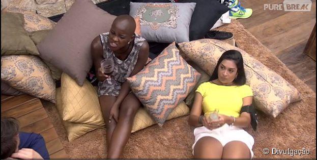 """Amanda diz que quer colocar Aline e Fernando no paredão do """"BBB15"""""""