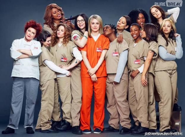 """Orange is the New Black"" é a série de sucesso do Netflix!"