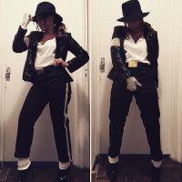 Anitta se veste de Michael Jackson e rouba a cena em baile a fantasia da Vogue!
