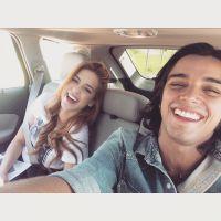 Sophia Abrahão e Rodrigo Simas se divertem juntos no fim de semana e postam selfie no Instagram