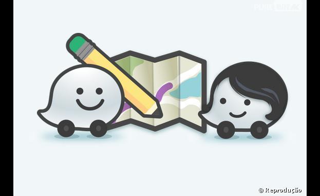 """O aplicativo Waze é um """"mapa social"""", que mistura GPS e rede social"""