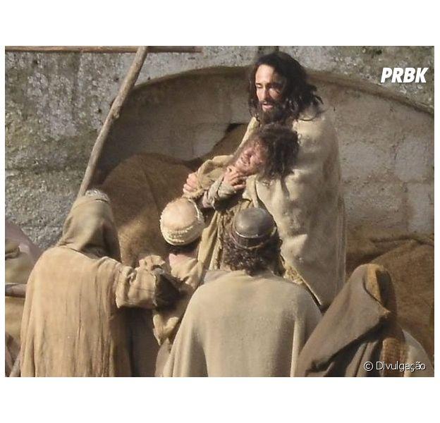 """Rodrigo Santoro como Jesus Cristo em """"Ben-Hur"""""""