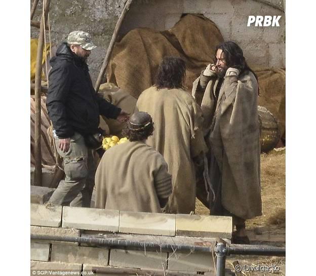 """Primeira imagem de Rodrigo Santoro como Jesus Cristo em """"Ben-Hur"""""""