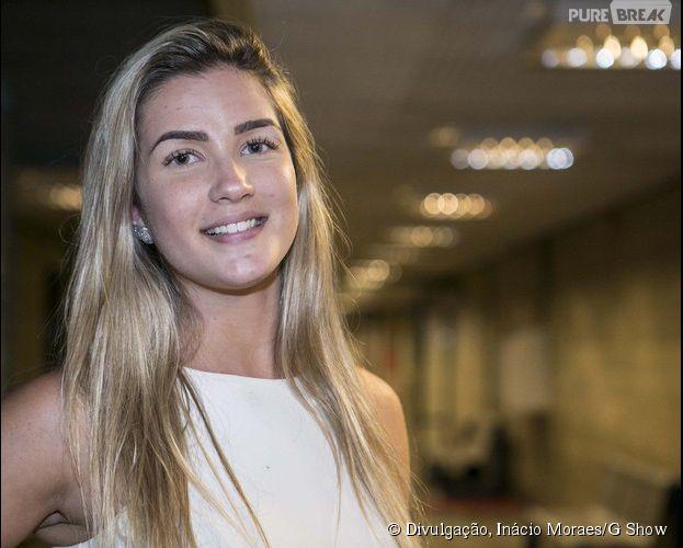 """Aline se despede do """"Big Brother Brasil 15"""" após ser eliminada com 53% dos votos"""