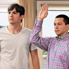 """Em """"Two and a Half Men"""": Charlie Sheen, Ashton Kutcher e o que esperar do último episódio da série!"""