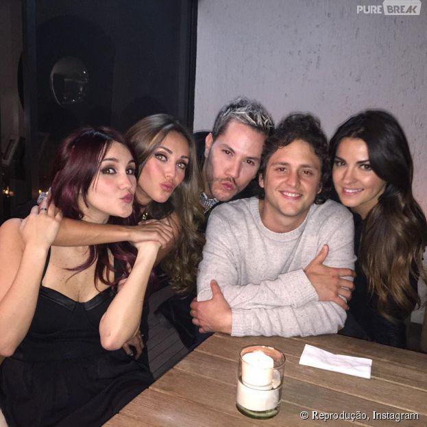 Anahi, Dulce Maria, Maite Perroni, Christopher Uckermann e Christian Chávez se reúnem e fãs do RBD pedem volta do grupo mexicano