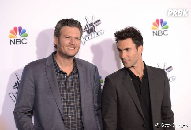 "No ""The Voice US"", o bromance entre Blake Shelton e Adam Levine continua mais forte do que nunca!"