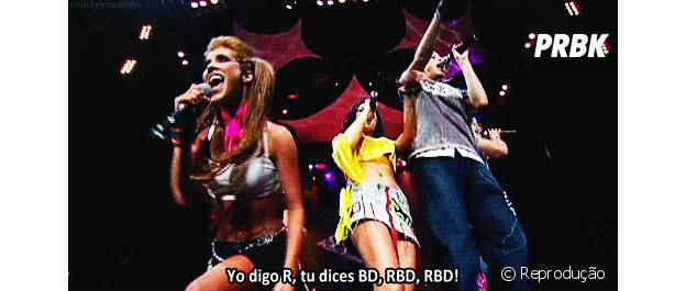 RBD de volta