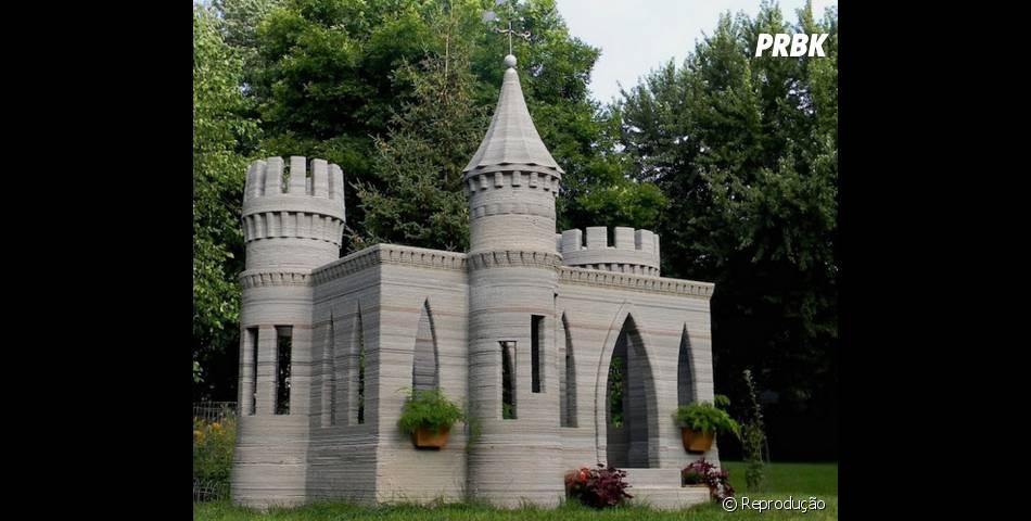 Com uma impressora 3D gigante, casas e castelos já foram criados ...