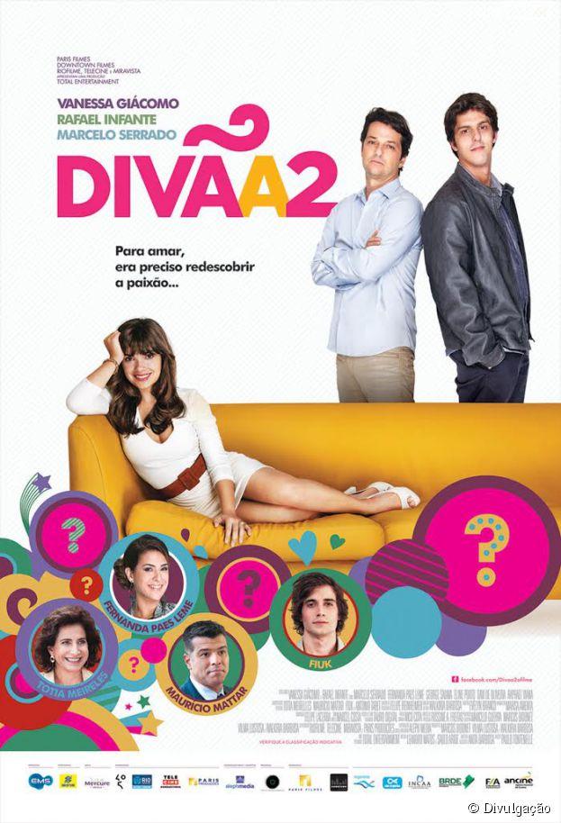 """Poster inédito do longa """"Divã 2"""" com Vanessa Giácomo"""