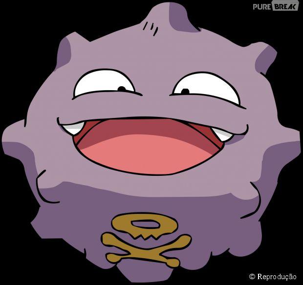 """No Japão, os Pokémons Koffing e Weezing são chamados de """"Ny"""" (New York) e """"La"""" (Los Angeles) para fazer referência a poluição dessas cidades"""