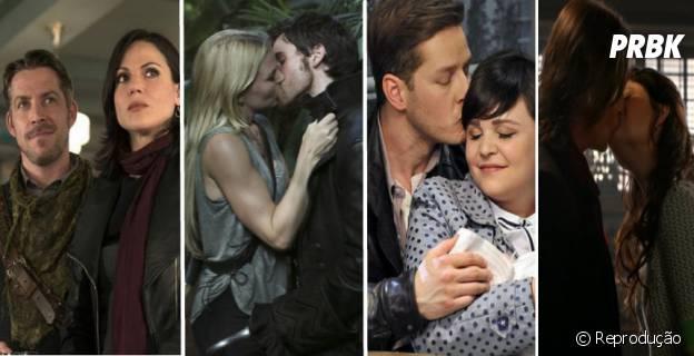 """Mais novidades sobre os casais de """"Once Upon a Time"""" vão aparecer na 4ª temporada"""