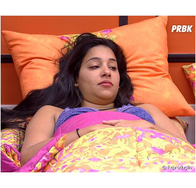 "Talita lamenta rer que deixar Rafael na casa caso seja eliminada do ""Big Brother Brasil"""