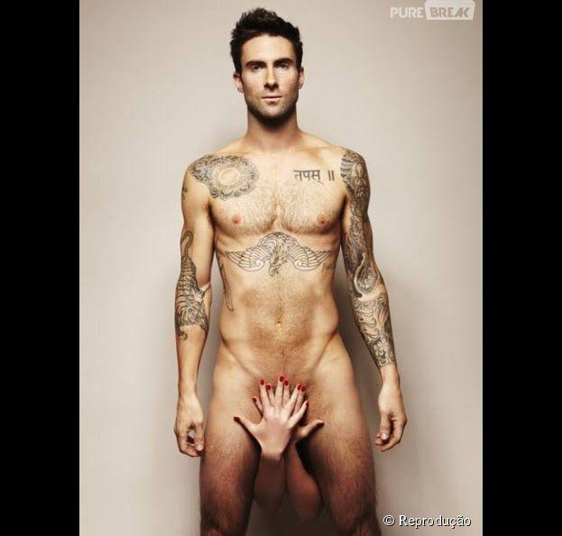 Adam Levine e suas famosas tatuagens