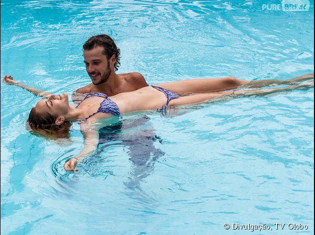 """Em """"Sete Vidas"""", Júlia (Isabelle Drummond) e Pedro (Jayme Matarazzo) ficam no maior clima um com o outro"""