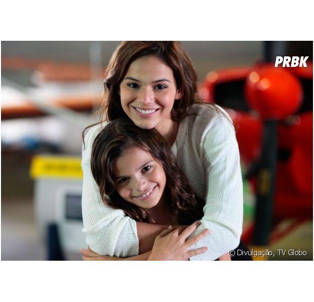 """Bruna Marquezine apoia sua irmã Luana Marquezine na estreia dela nas telinhas com """"Em Família"""""""