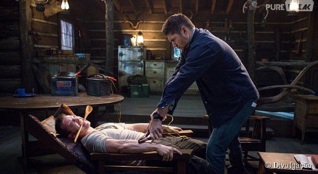 """Dean(Jensen Ackles) fica revoltado e sai torturando geral em """"Supernatural"""""""