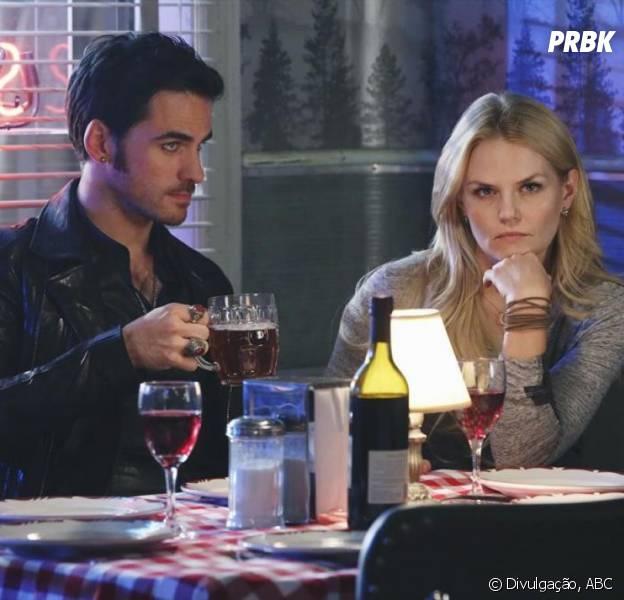 """Será mesmo que a Emma (Jennifer Morrison) vai perdoar o Hook (Colin O'Donoghue) em """"Once Upon a Time""""?"""