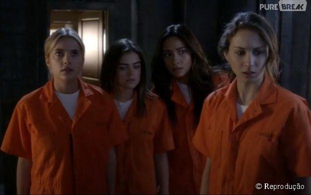 """Em """"Pretty Little Liars"""", as meninas tiveram revelações chocantes no último episódio!"""