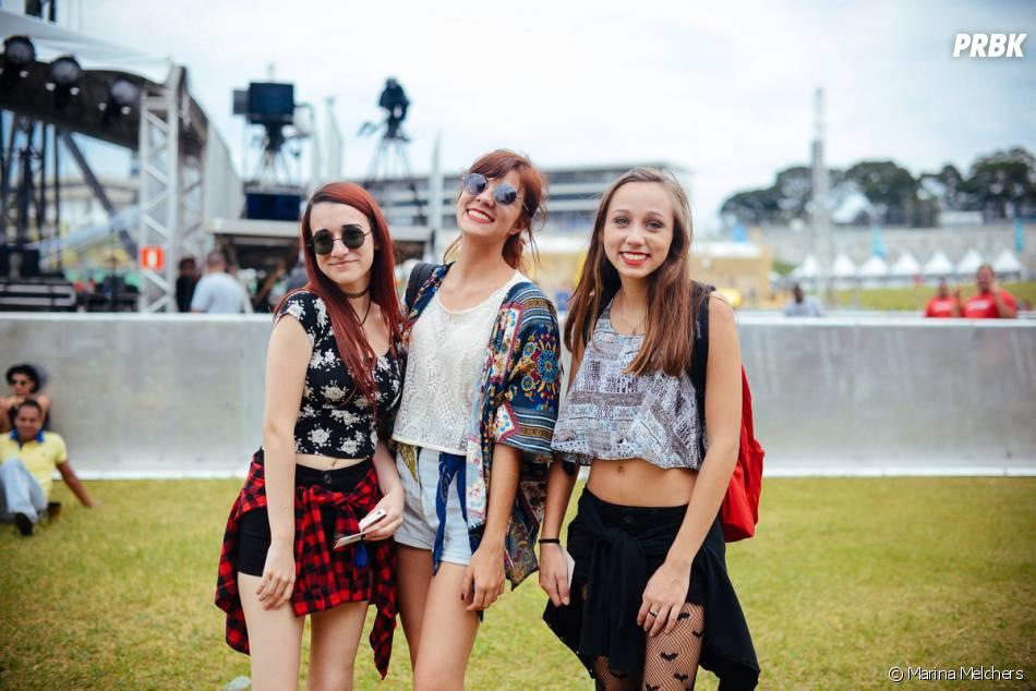 "Top cropped e shortinhos eram o look ""oficial"" do Lollapalooza 2015"