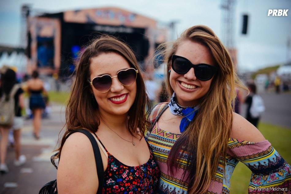 As amigas foram juntas curtir os shows do Lollapalooza 2015