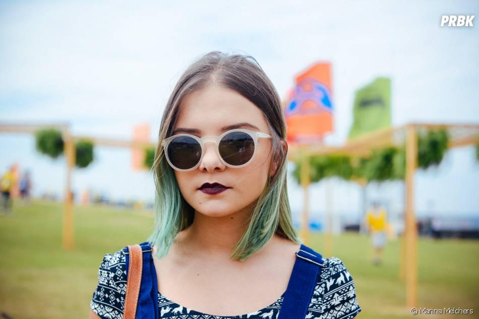 Cabelos coloridos no Lollapalooza 2015