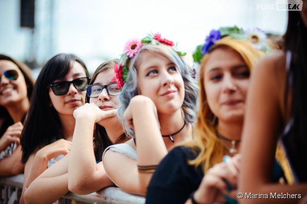 No Lollapalooza 2015, a coroa de flores reinou na cabeça das meninas mais estilosas