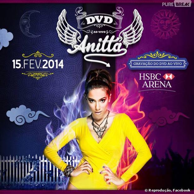 Anitta gravará seu DVD ao vivo no HSBC Arena, no Rio de Janeiro