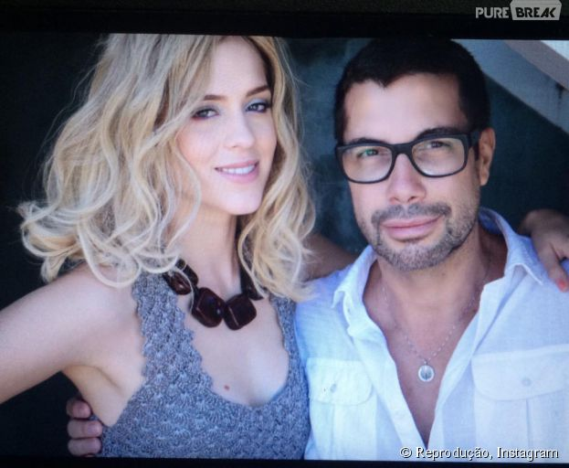 Sophia Abrahão aparece loira em foto com o fotógrafo Fernando Torquatto